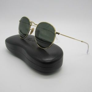 RayBan RB3447 ROUND METAL Sunglasses /Italy/ELL427